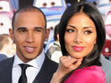 "Lewis Hamilton reveals that he and Nicole Scherzinger have parted as ""friends""."