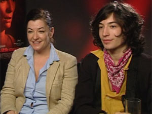 Lynne Ramsay and Ezra Miller DS interview