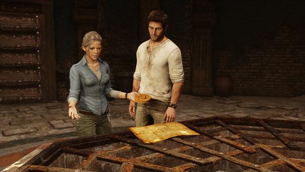 Uncharted 3: Drake's Deception - Yemen well