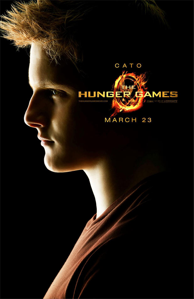 Hunger Games Character Posters - Alexander Ludwig as Cat