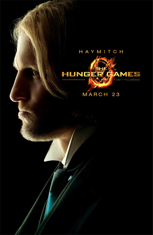 Hunger Games Character Posters - Woody Harrelson as Haymitch