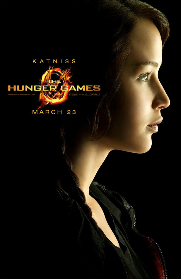 Hunger Games Character Posters - Jennifer Lawrence as Katniss