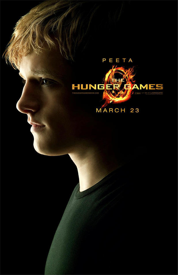 Hunger Games Character Posters - Josh Hutcherson as Peeta
