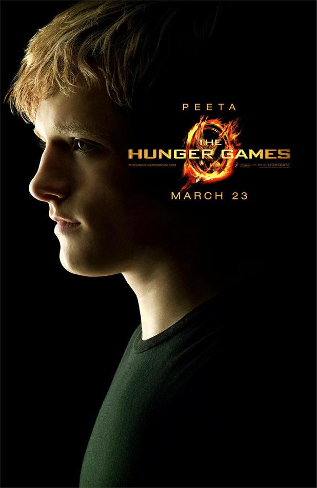 Hunger Games Character Posters - Josh Hutcherson as Peeta