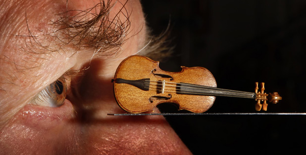 Tiny violin