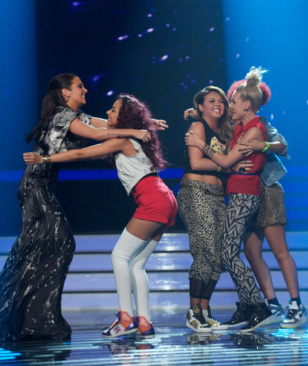 The X FACTOR RESULTS Show: Little Mix are through to next weeks show ...