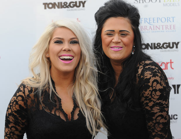 Charley Bird and Lucy Texeria of 2 Shoes attend Essex Fashion Week