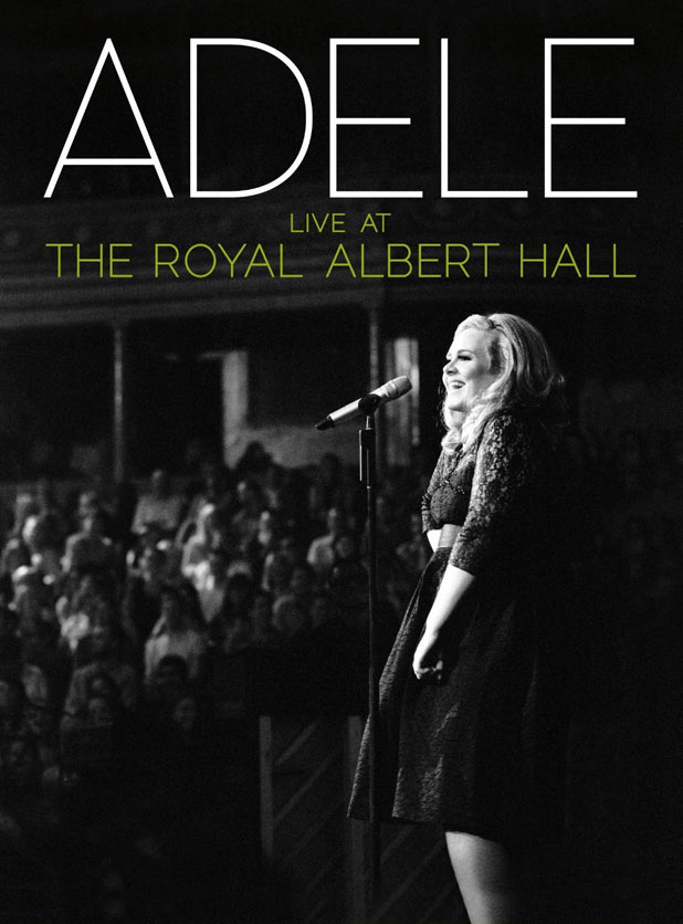 Adele: Live at the Royal Albert Hall DVD Cover