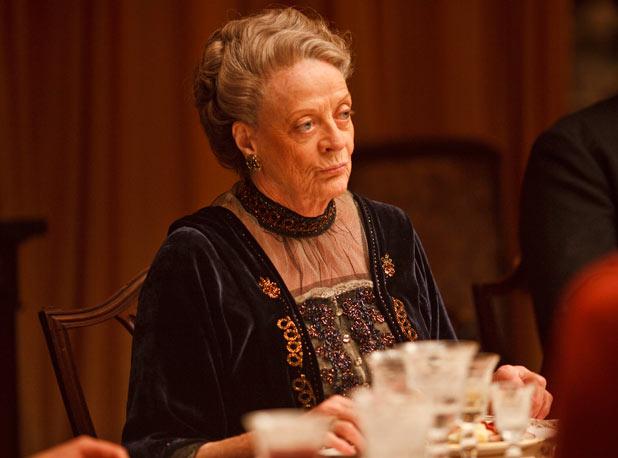MAGGIE SMITH as Violet.