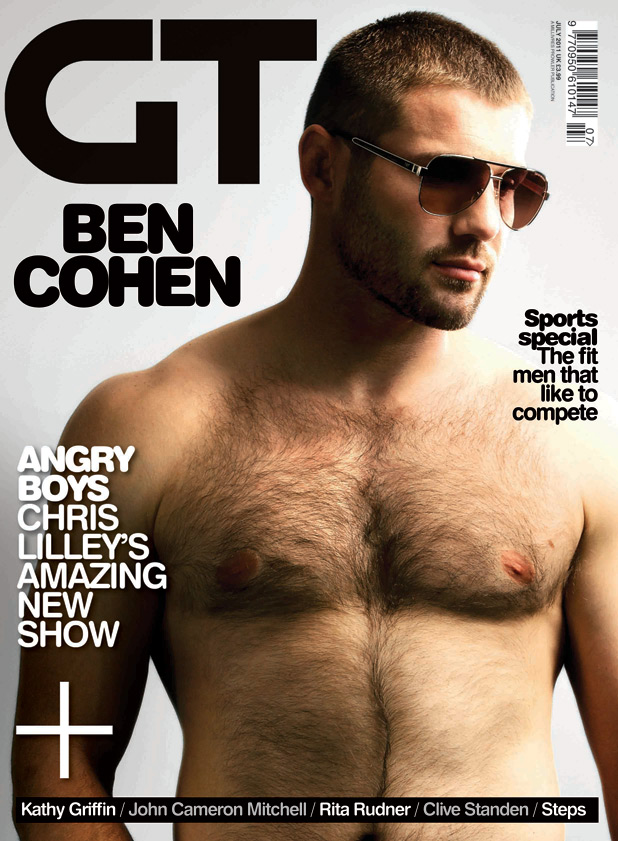 Gay Times classic covers: Ben Cohen
