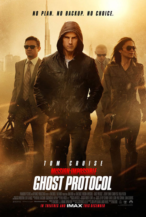 'Mission Impossible: Ghost Protocol' poster