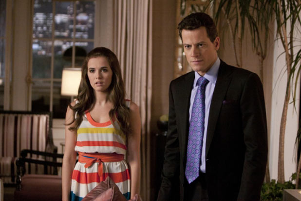 Zoey Deutch as Juliet and Ioan Gruffudd as Andrew Martin