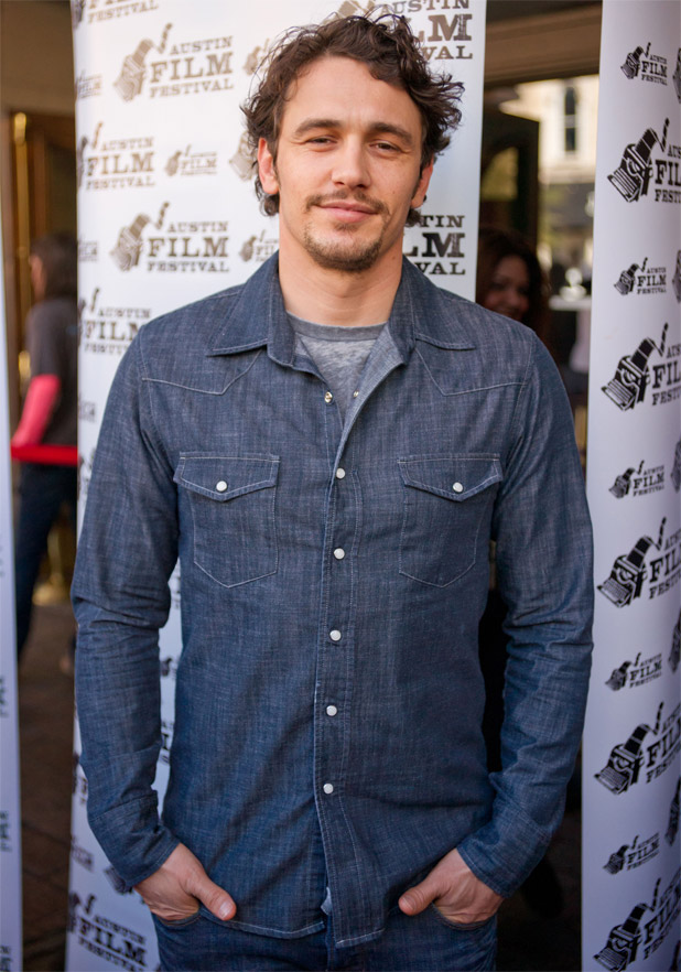 James Franco arrives the premiere of 'Sal' at the 2011 Austin Film Festival