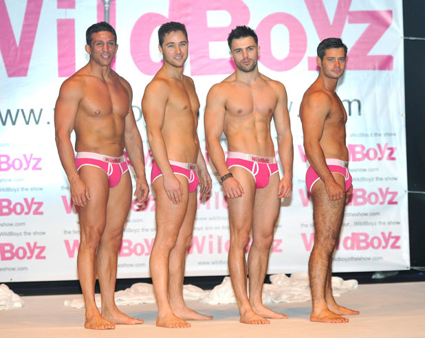 Wildboyz launch: Alex Reid, Marcus Patrick, Dale Howard, Danny Young