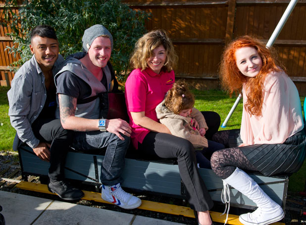 The X Factor: Children's hospice visit