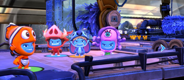 Disney Universe: Monsters Inc. Screenshot