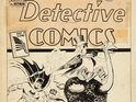 A Detective Comics cover design is expected to be auctioned for $300,000.