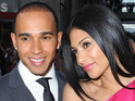 Nicole Scherzinger says she is still friends with ex-boyfriend Lewis Hamilton.