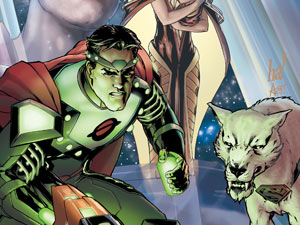 Action Comics Issue 3 featuring Krypto