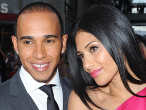 Lewis Hamilton and Nicole Scherzinger