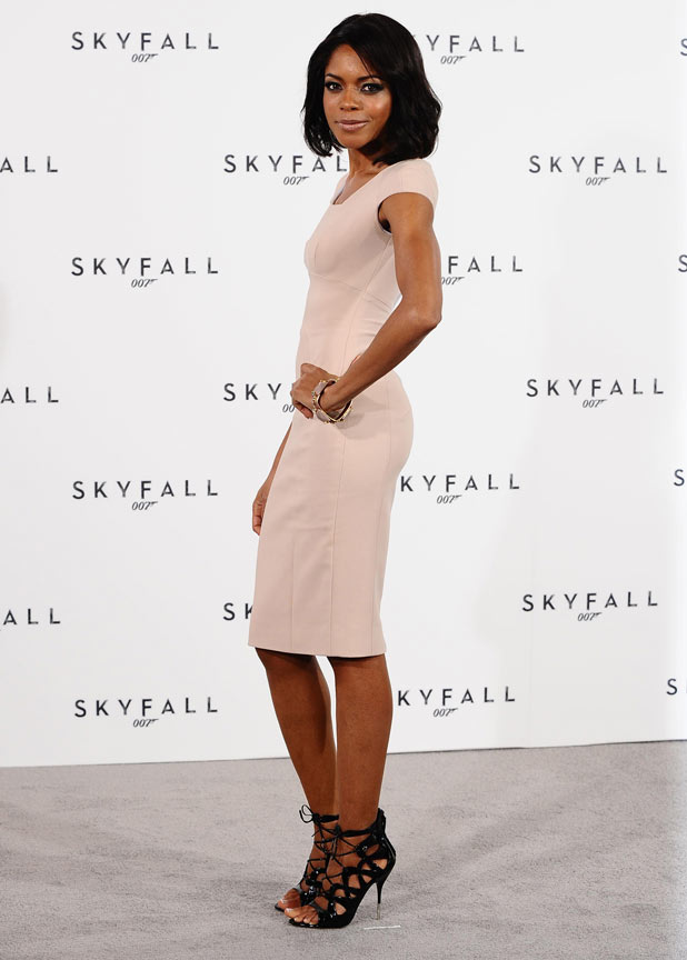 Naomie Harris at the James Bond: Skyfall photocall