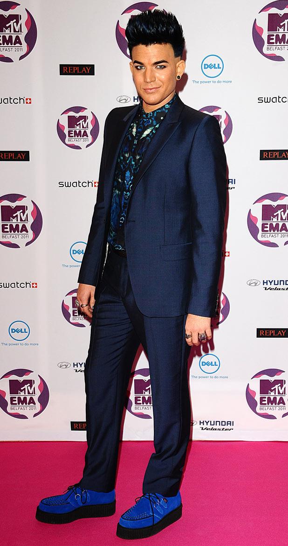 MTV Europe Music Awards 2011: Adam Lambert