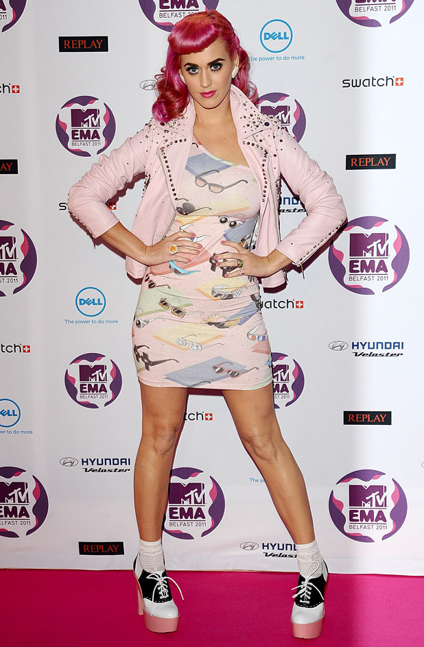 MTV Europe Music Awards 2011: Katy Perry
