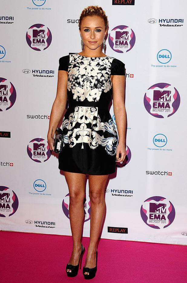 MTV Europe Music Awards 2011: Hayden Panettiere