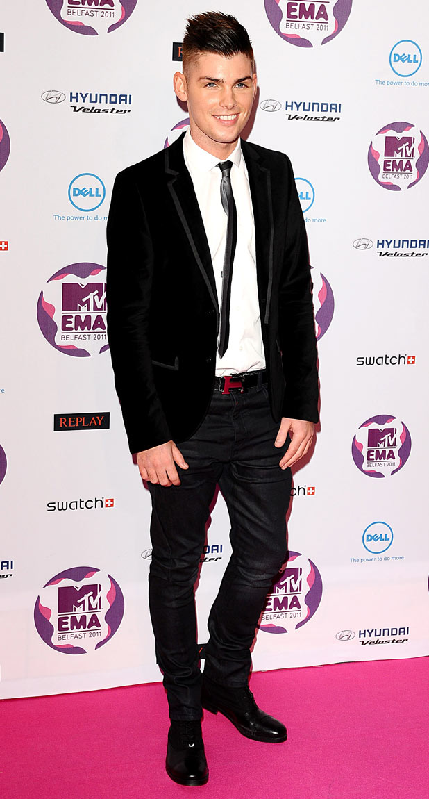 MTV Europe Music Awards 2011: Kieron Richardson