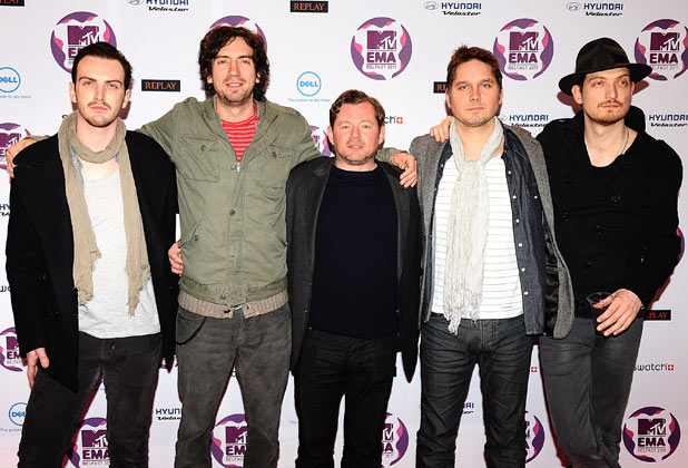MTV Europe Music Awards 2011: Snow Patrol