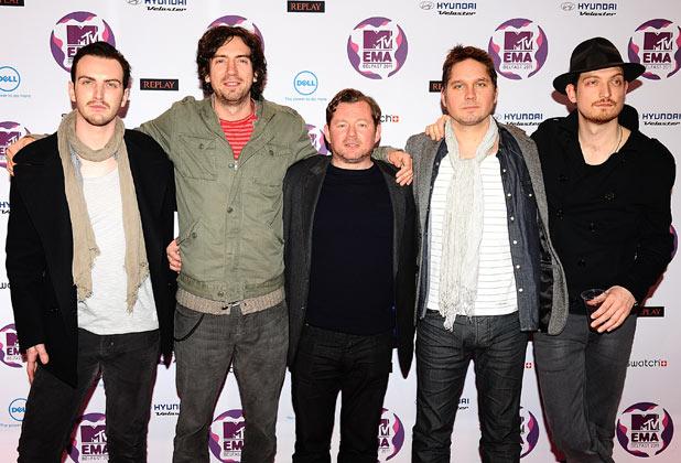 MTV Europe Music Awards 2011: Snow Patrol