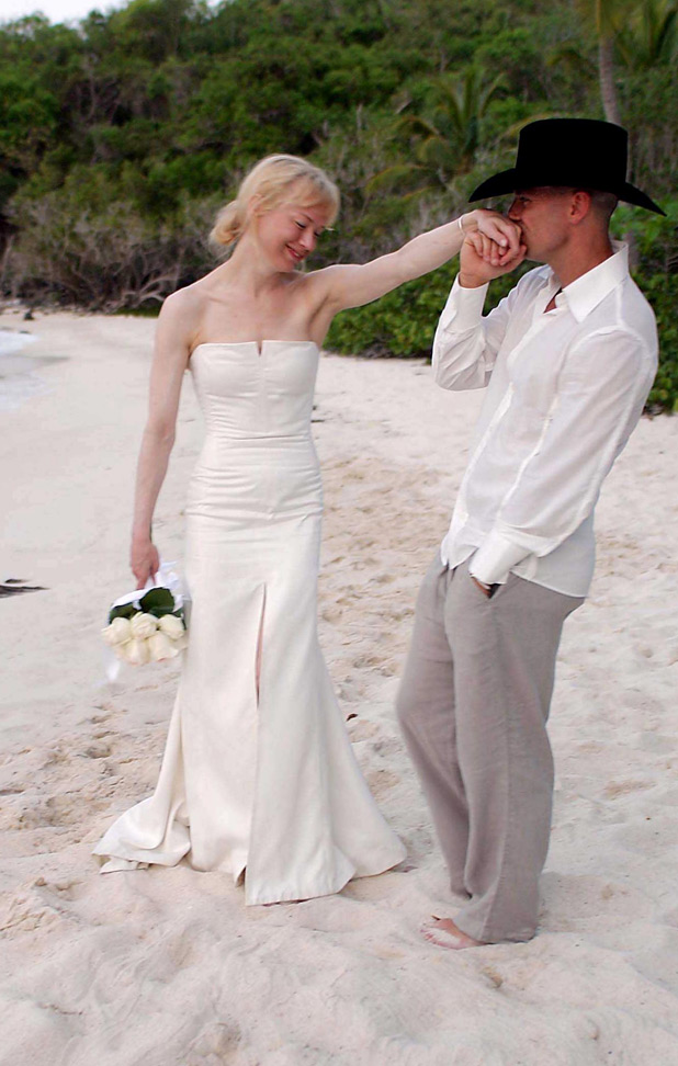 Renée Zellweger and Kenny Chesney