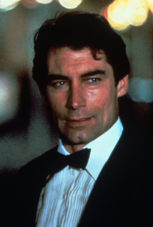 Timothy Dalton played the secret agent for the first time in 1987's The Living Daylights