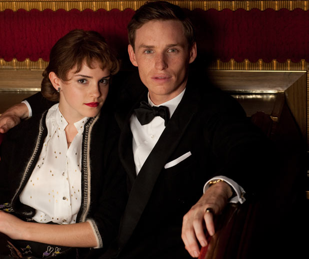 Emma Watson and Eddie Redmayne
