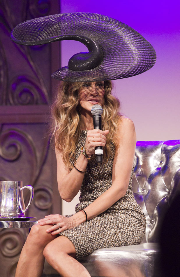 Sarah Jessica Parker at the 2011 VRC Oaks Club Ladies Luncheon, Melbourne, Australia