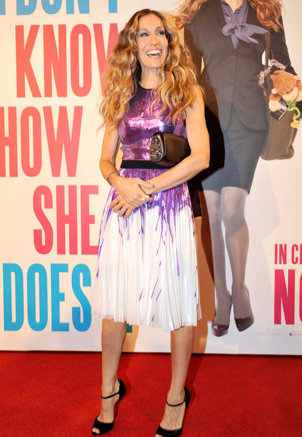Sarah Jessica Parker at the Australian premiere of 'I Don't Know How She Does It'