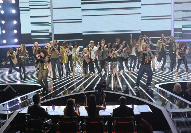 The final 12 perform