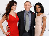 Berenice Marlohe, Daniel Craig and Naomie Harris at the James Bond: Skyfall photocall