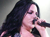 Amy Lee of Evanescence perform at the Hammersmith Apollo, London