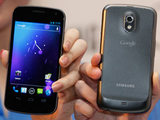 The Samsung Galaxy Nexus smartphone