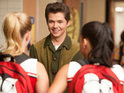 Damian McGinty reveals that he has a shocking romance coming up on Glee.