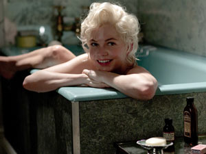 Marilyn in the bath
