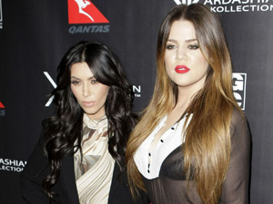Khloe Kardashian and Kim Kardashian