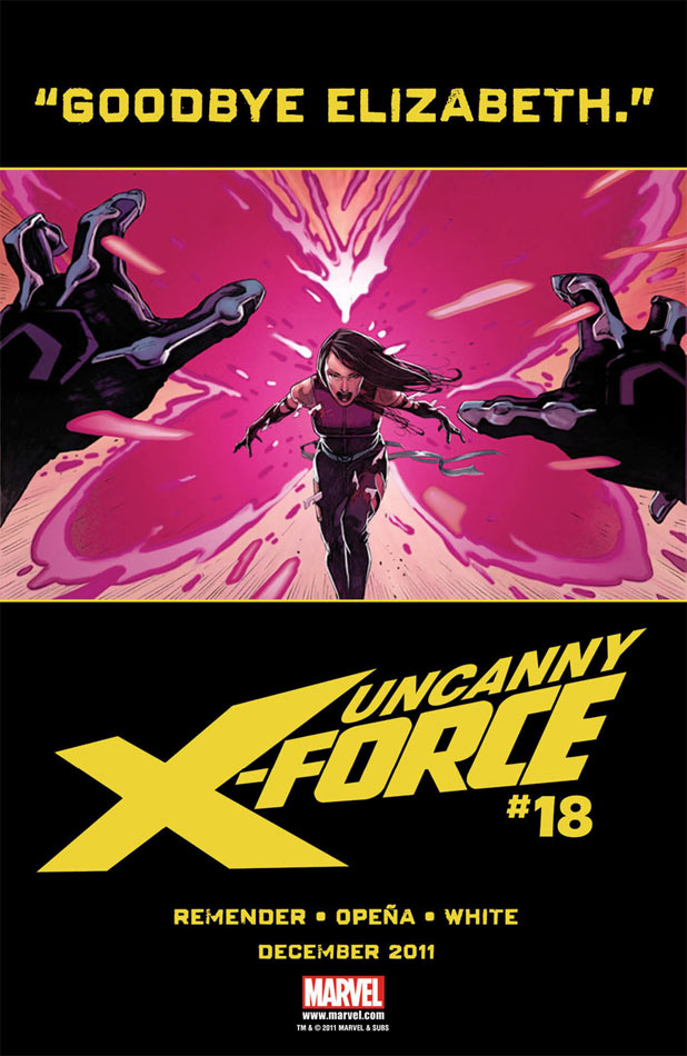 Uncanny X-Force Dark Angel Saga Psylocke