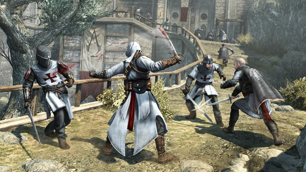 Assassin's Creed Revelations: Combat in the fortress