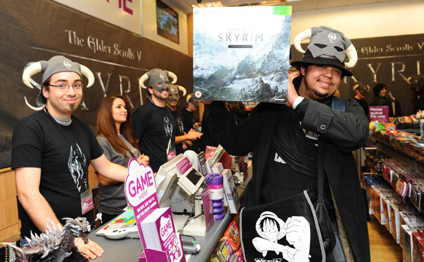 Elder Scrolls V: Skyrim launch photos