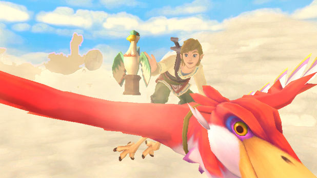Legend of Zelda: Skyward Sword: Screenshot 1