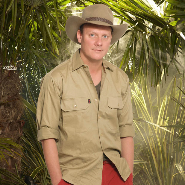 Anthony Cotton in I'm A Celebrity Get Me Out Of Here 2011