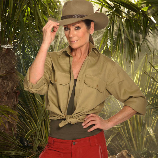 Lorraine Chase in I&#39;m A Celebrity Get Me Out Of Here 2011