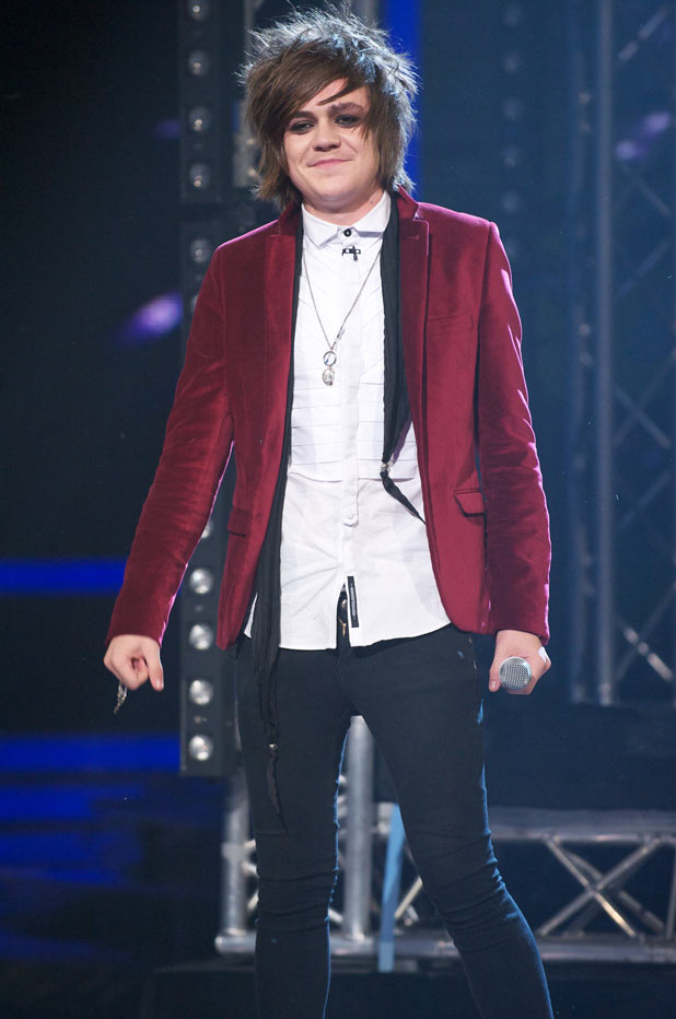 Frankie Cocozza is kicked off The X Factor